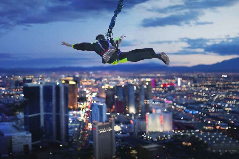 Take a SkyJump off the highest structure in Las Vegas