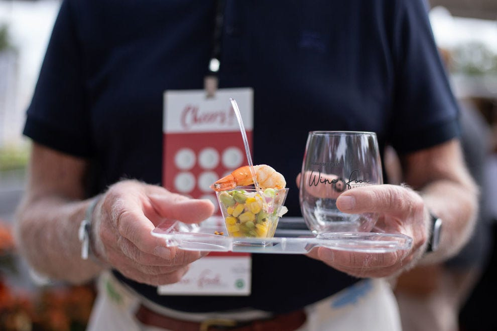 The Grand Tasting at Paradise Coast Wine + Food Experience is a culinary who's who of local, regional and national chefs