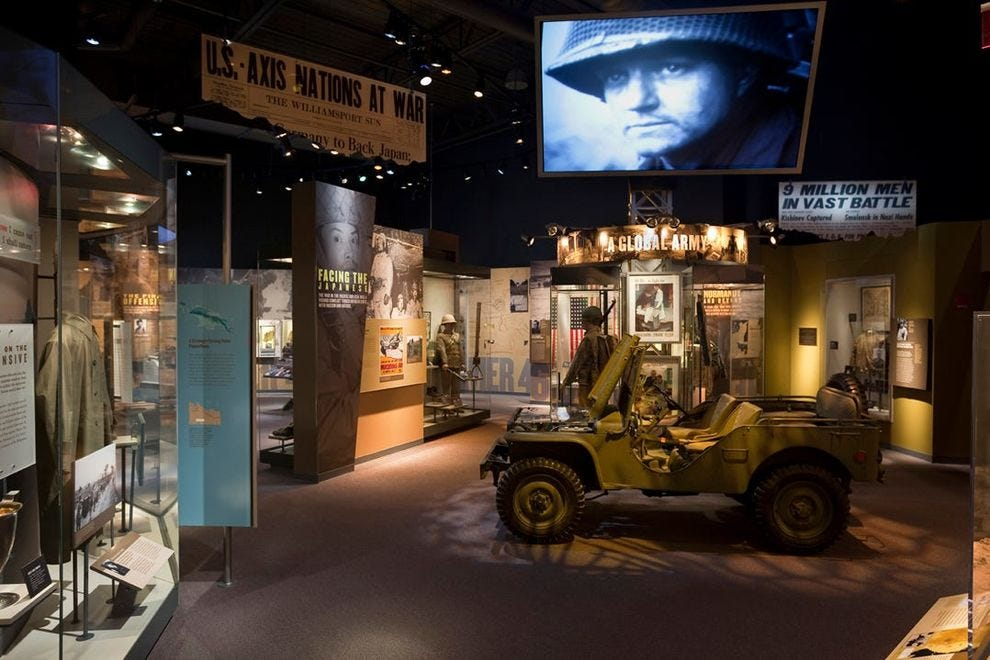 Learn about the history of the U.S. soldier at this winning museum