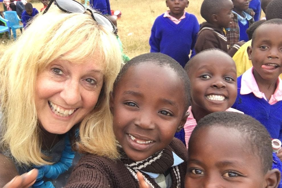 The kids loved taking selfies – and so did I!
