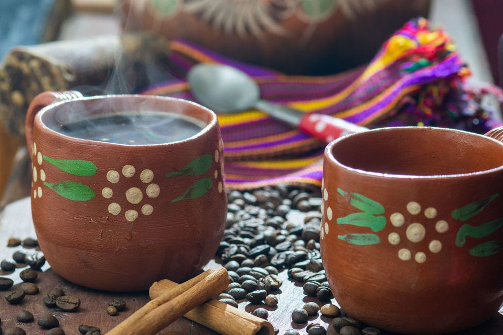 Traditional Mexican coffee