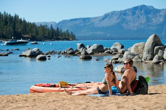 10Best Lake Tahoe Beaches for all Seasons