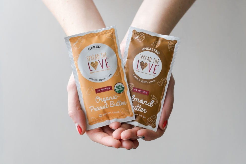 Single-Serve Spread The Love Nut Butter