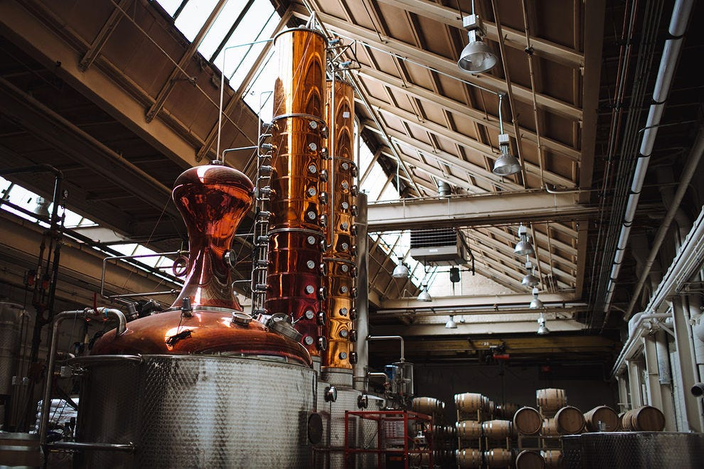 KOVAL Distillery's still, which they are using to make sanitizer