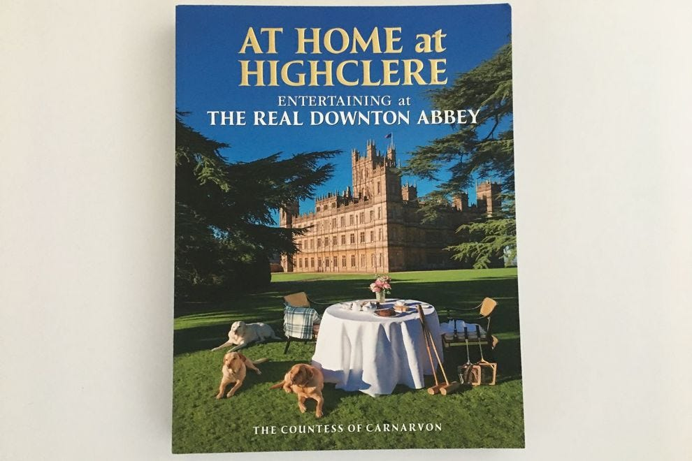 Be a guest at Highclere Castle