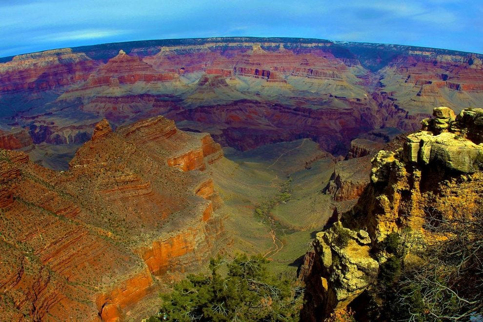 See the Grand Canyon by rail