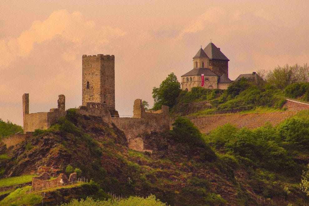 History awaits along the Rhine