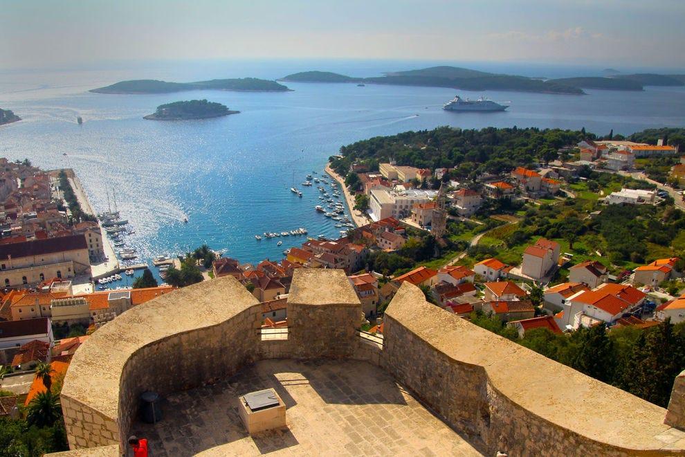 View of Hvar, Croatia