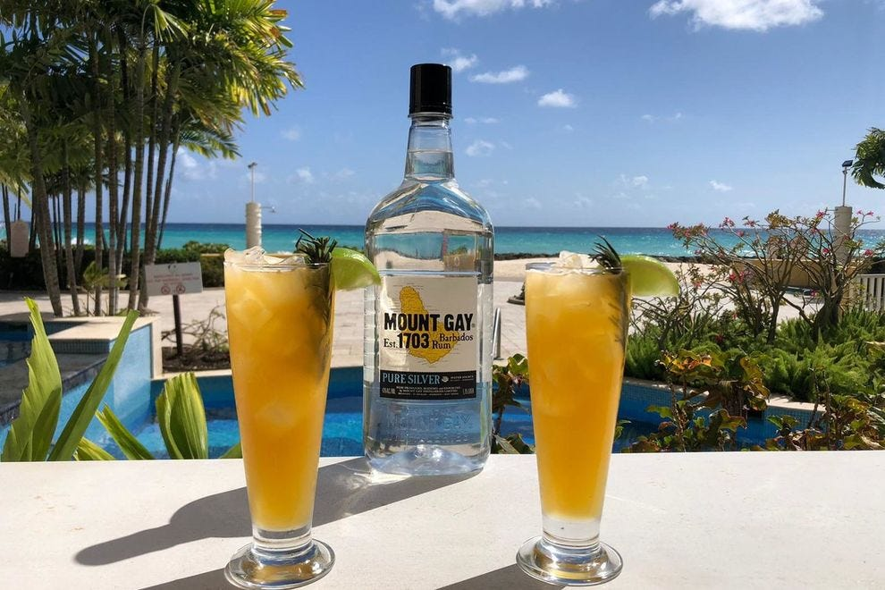 In Barbados, Light at the End of the Tunnel is a timely cocktail created at the Ocean Two Resort