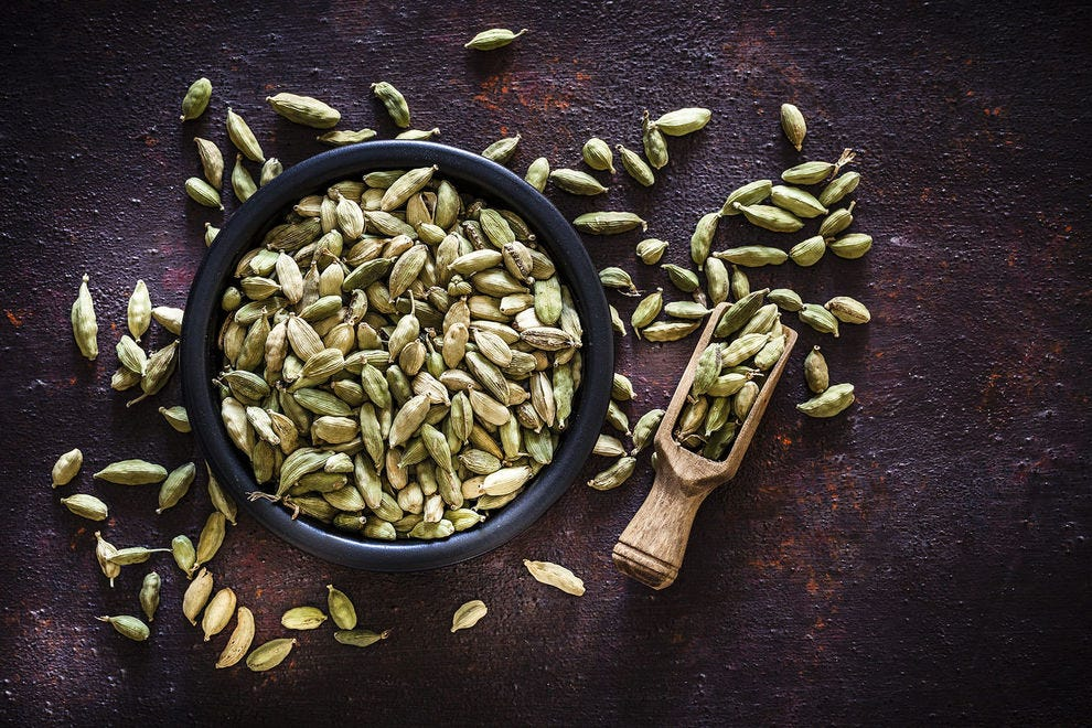 Cardamom comes in pods, and the seeds as well as pods can be used to achieve a multitude of flavors