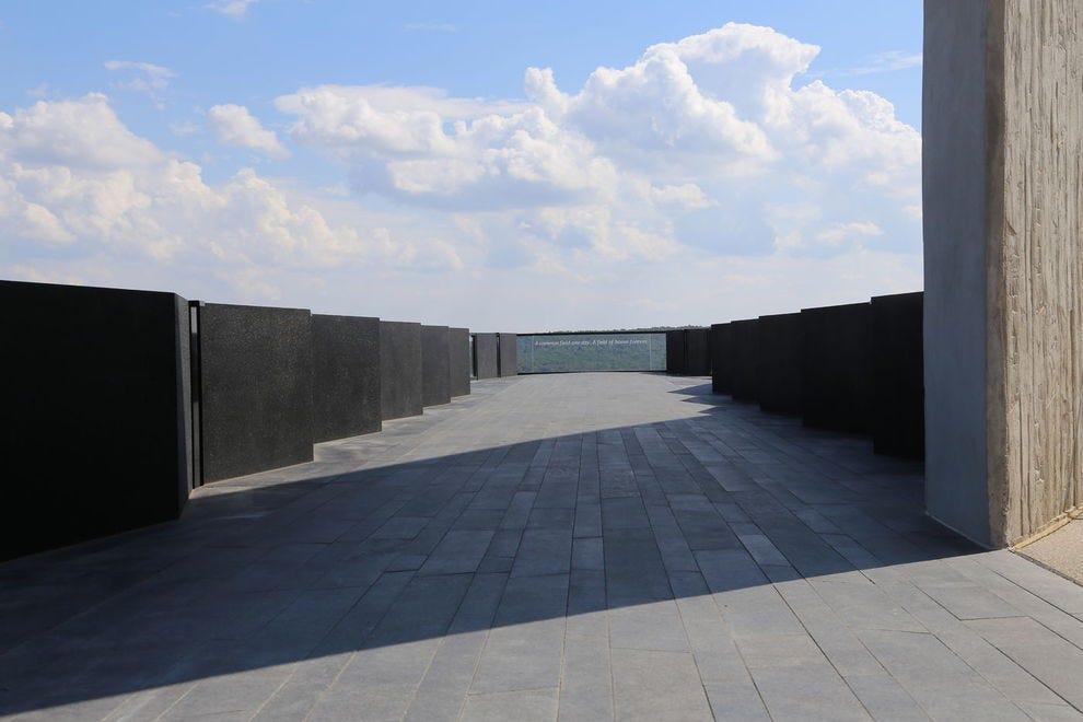 Flight Path Overlook at Flight 93 National Memorial
