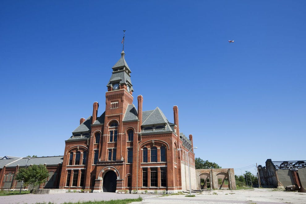 Factory at Pullman National Monument