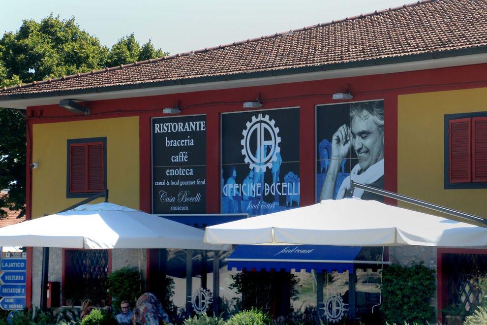 Bocelli Restaurant in Lajatico