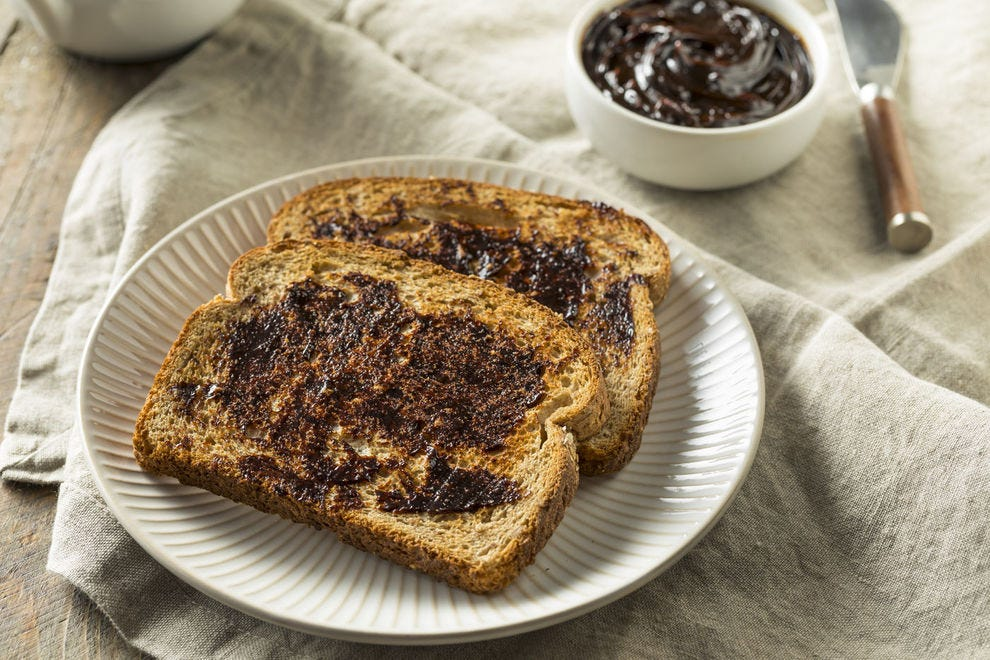 Vegemite might as well be the official food of Australia