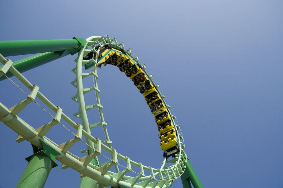 Get ready for an adrenaline rush on these top coasters