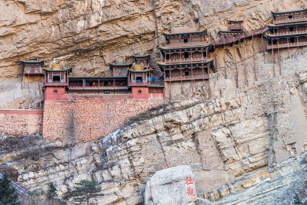 China's Hanging Monastery