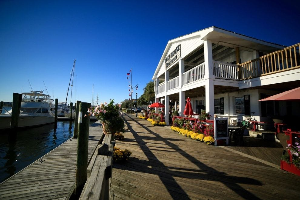 The waterways and marshes of the Inner Banks set the scene for adventure in Beaufort
