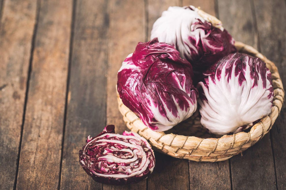 This radicchio is ridiculously gorgeous