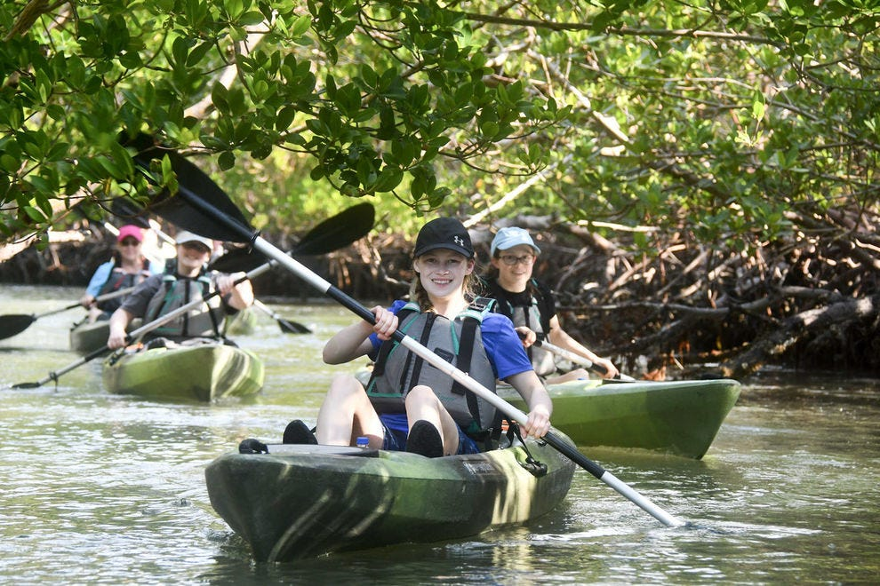 Rising Tide Explorers has been voted Best Kayaking Tour two years in a row