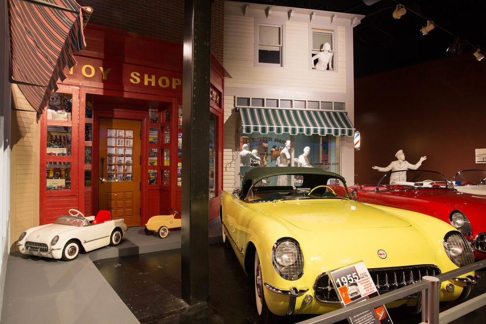 Winning attraction celebrates America's favorite sports car