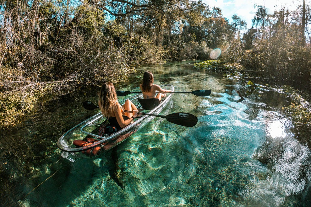 Get Up And Go Kayaking
