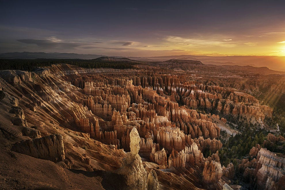 Amphitheater at Bryce Canyon