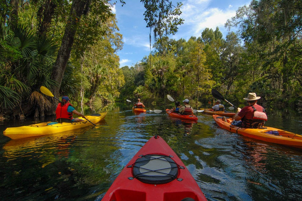 Vote for your favorite kayaking tour