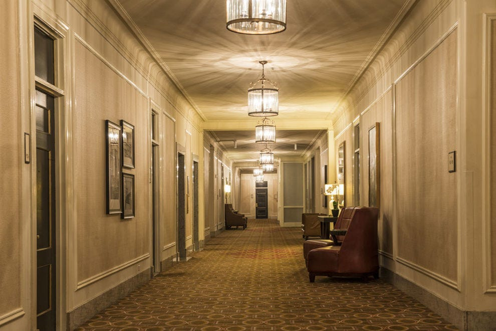 Some guests at these haunted hotels never checked out