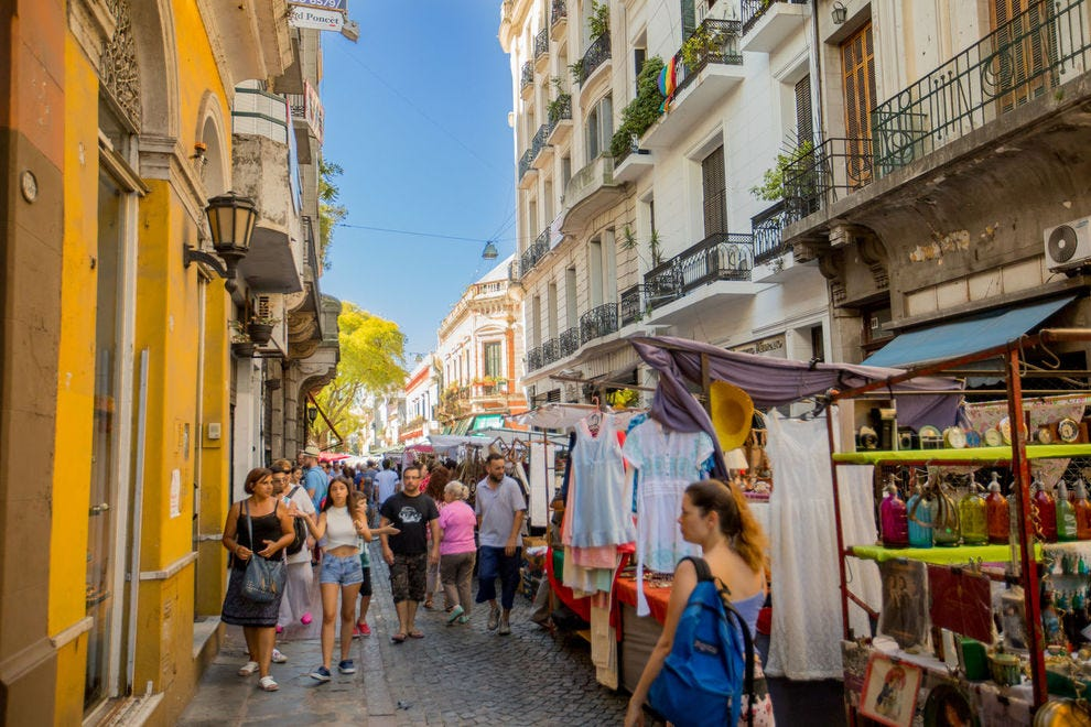 San Telmo antiques and crafts fair
