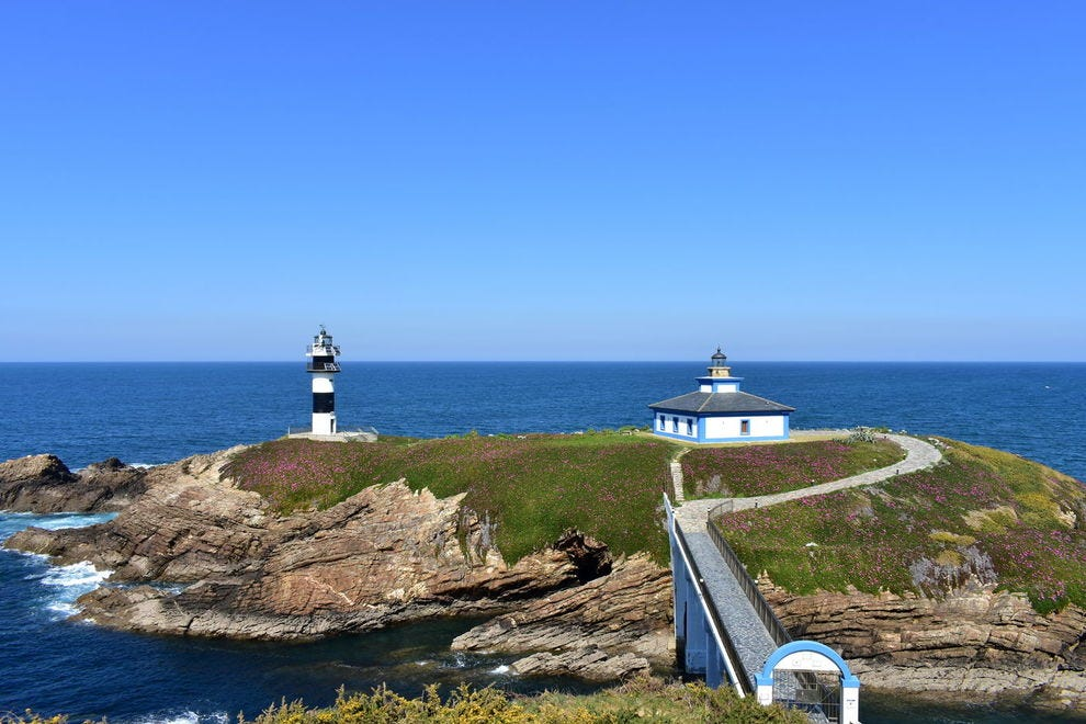 Illa Pancha Lighthouse