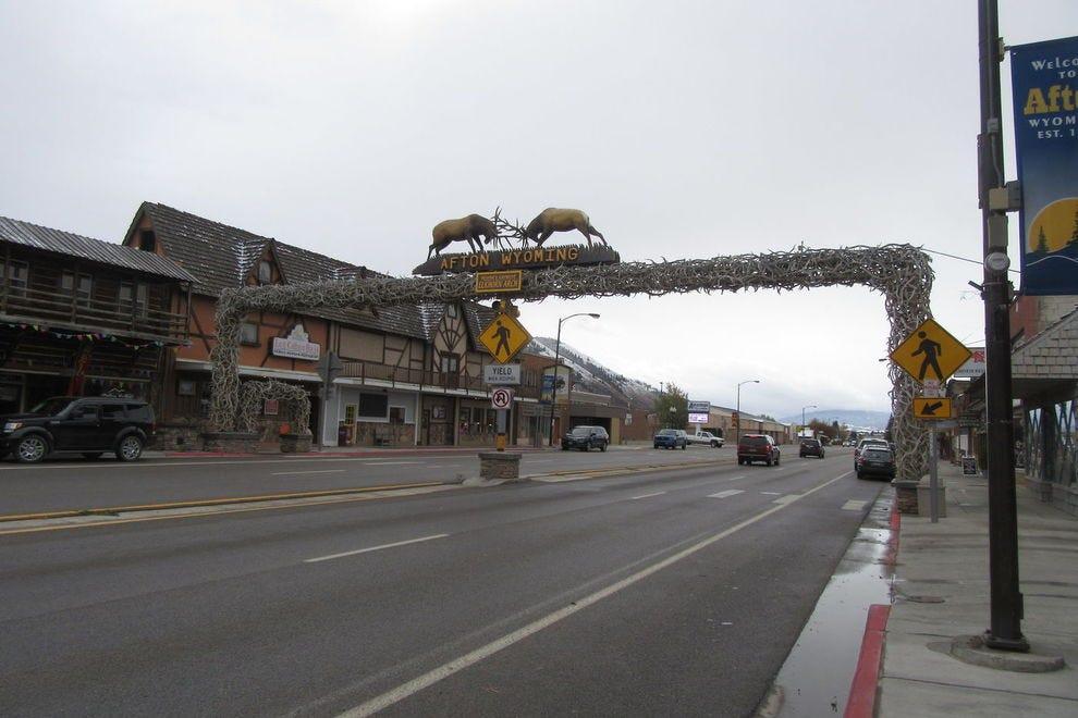 World's Largest Elkhorn Arch
