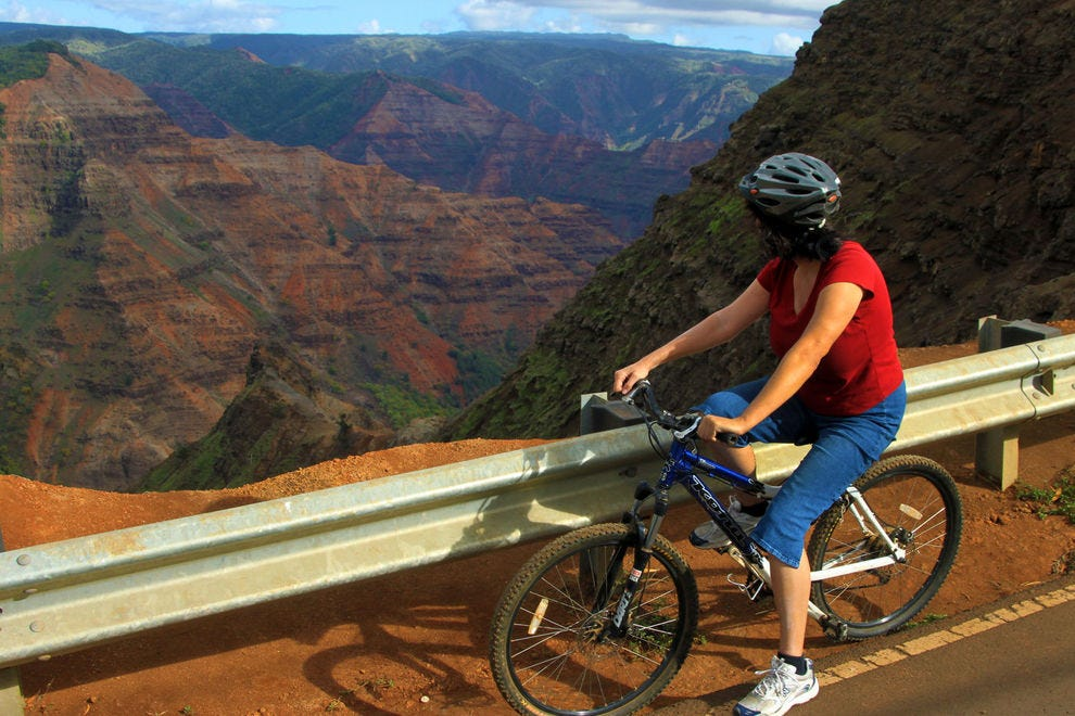 Bike the beautiful byways of Kauai
