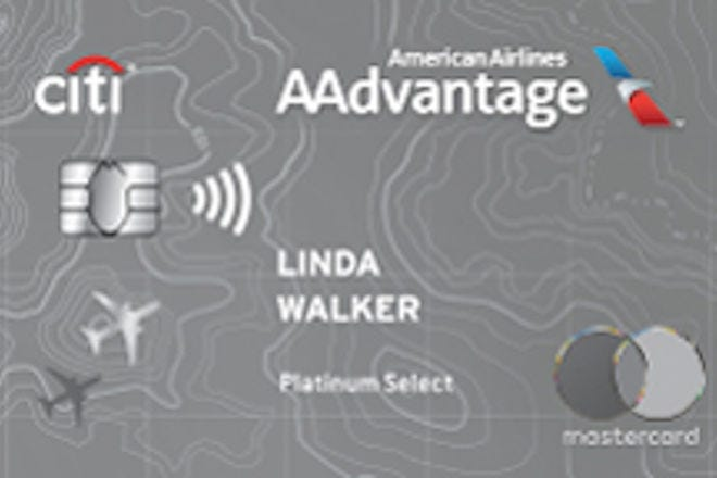 Citi / AAdvantage Platinum Select World Elite Card