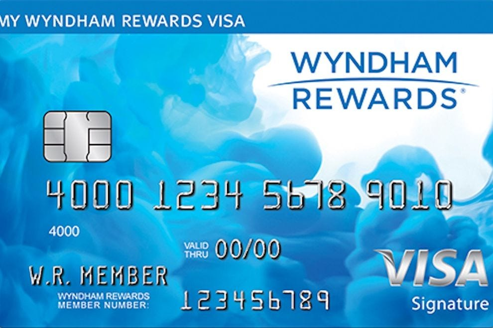 Wyndham Rewards Visa Signature Card