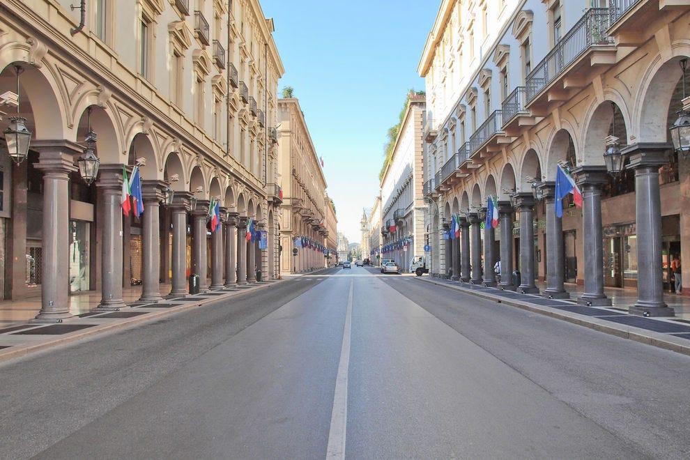 Via Roma in Turin