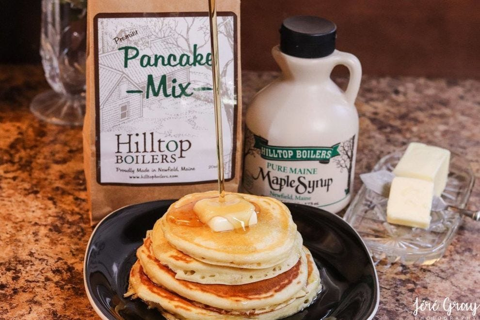 Hilltop Boilers puts maple sap in a whole line of products!
