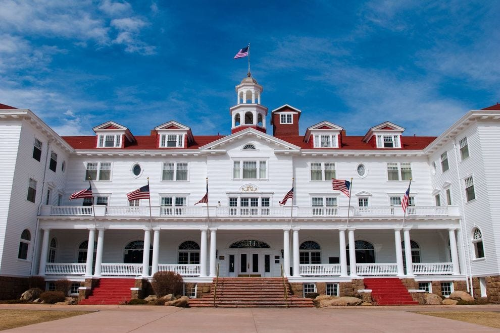 "Winning haunted hotel was featured in the film ""The Shining"""
