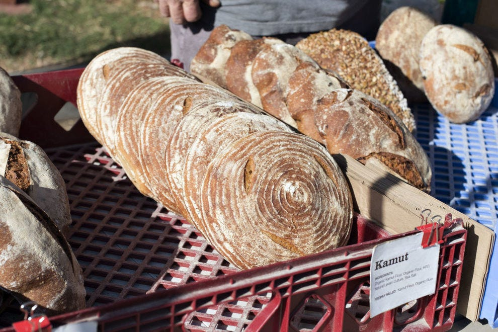 Kamut bread is nutty, buttery and full of nutrition