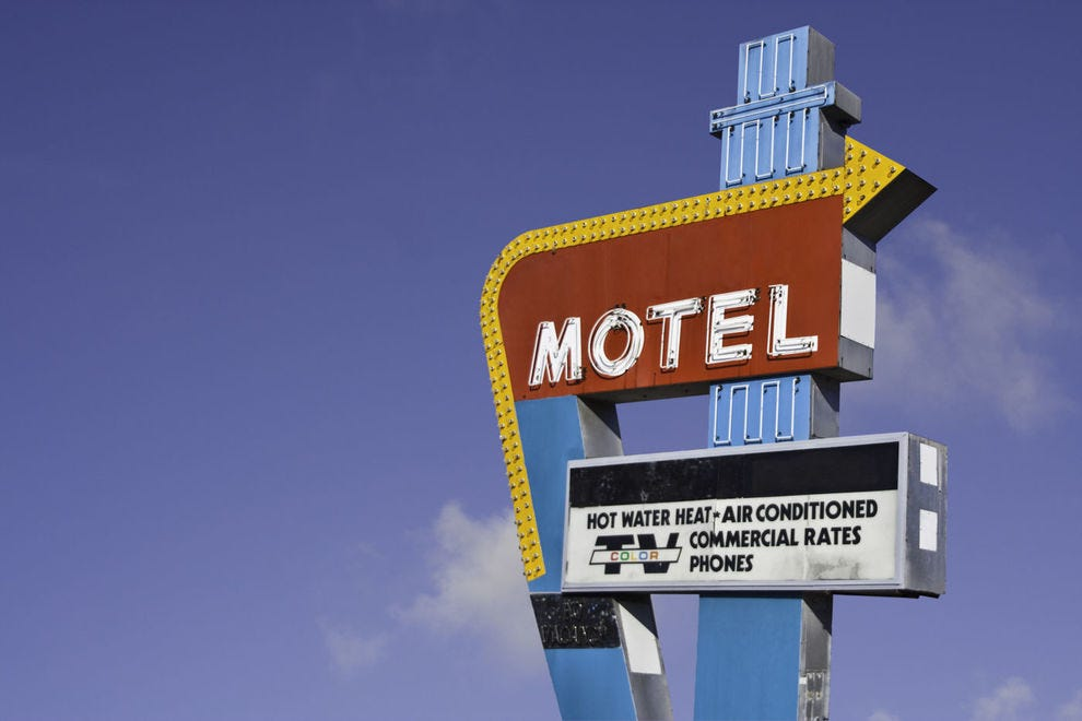 These motels harken back to the golden era of road tripping
