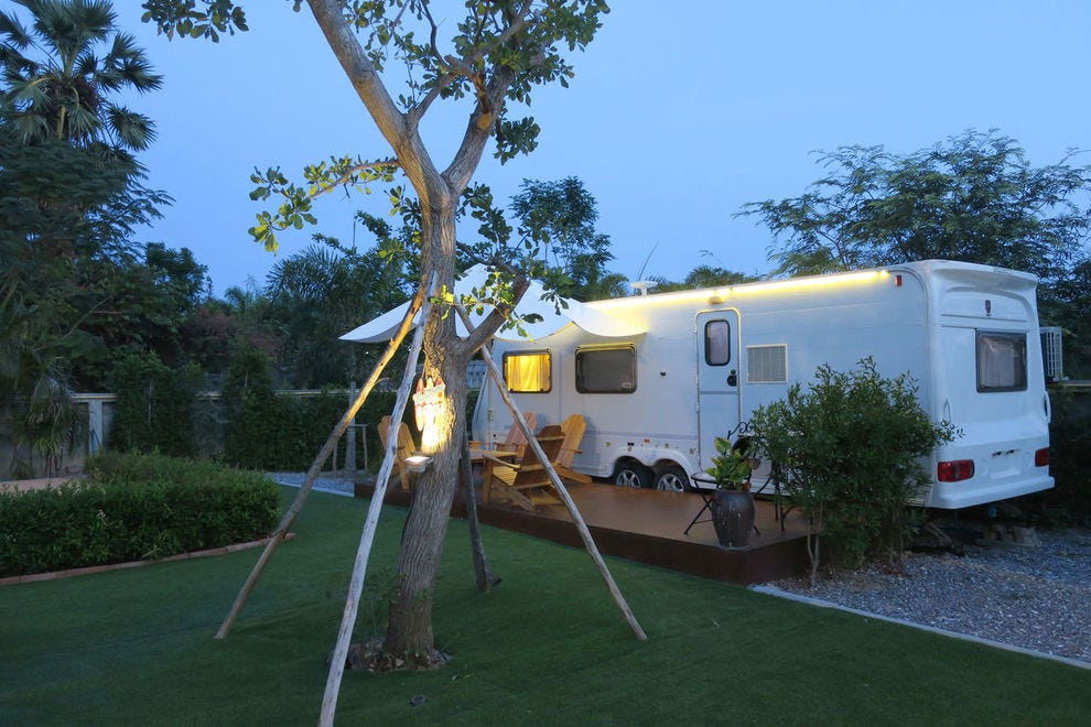 Park your RV at a resort for a luxurious stay