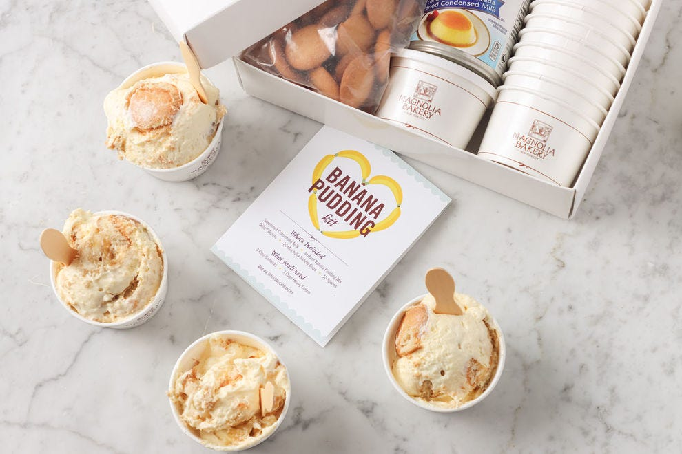 Banana pudding kit from Magnolia Bakery