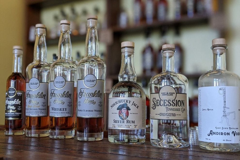 Winning distillery operates from downtown Bristol, Tennessee