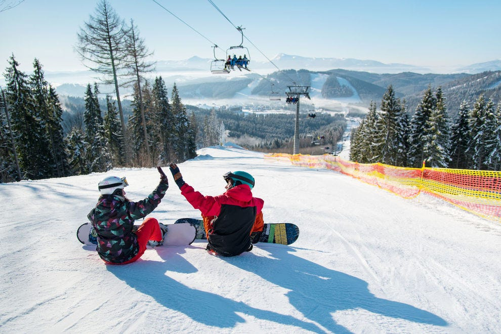 What are the best ski resorts and amenities in North America?
