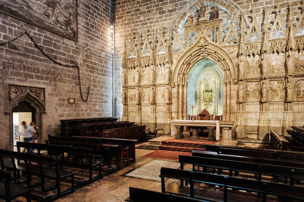 El Santo Cáliz de la Catedral de Valencia