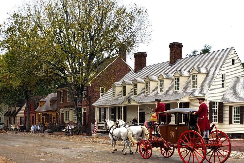 Autumn in Colonial Williamsburg
