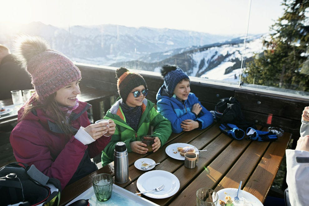 Ski in for a meal at these on-mountain restaurants
