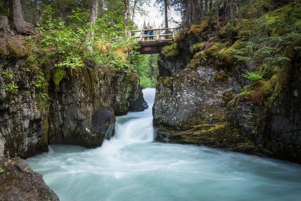 Winner Creek Trail Bridge