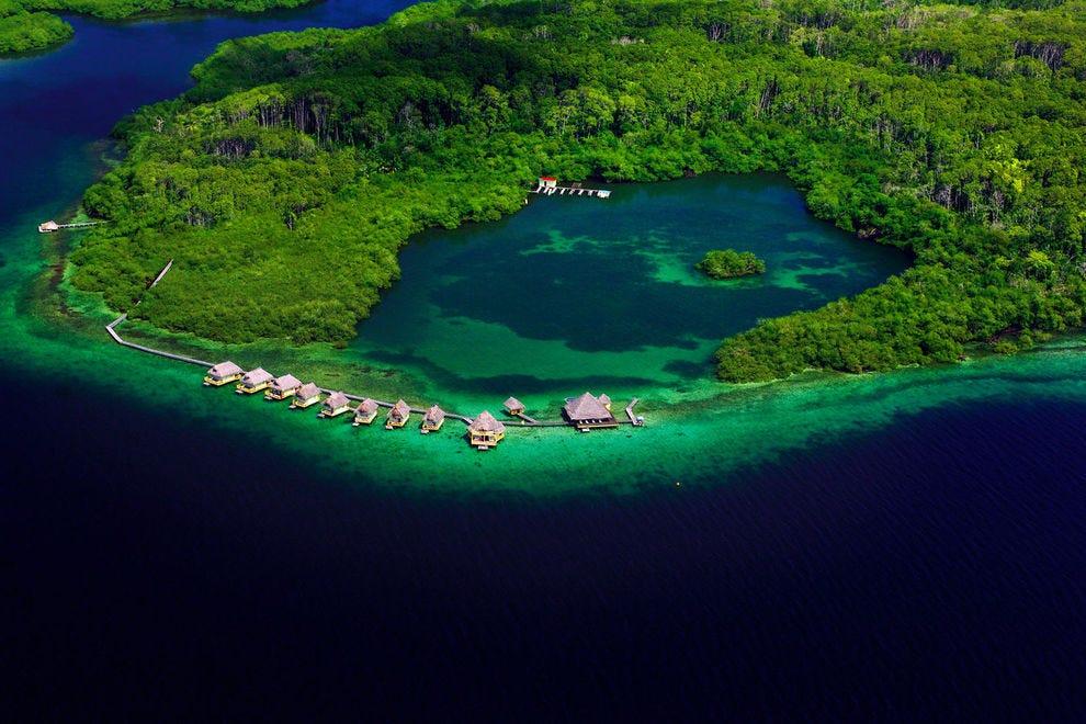 Coral Cay in Isla Bastimentos National Marine Park