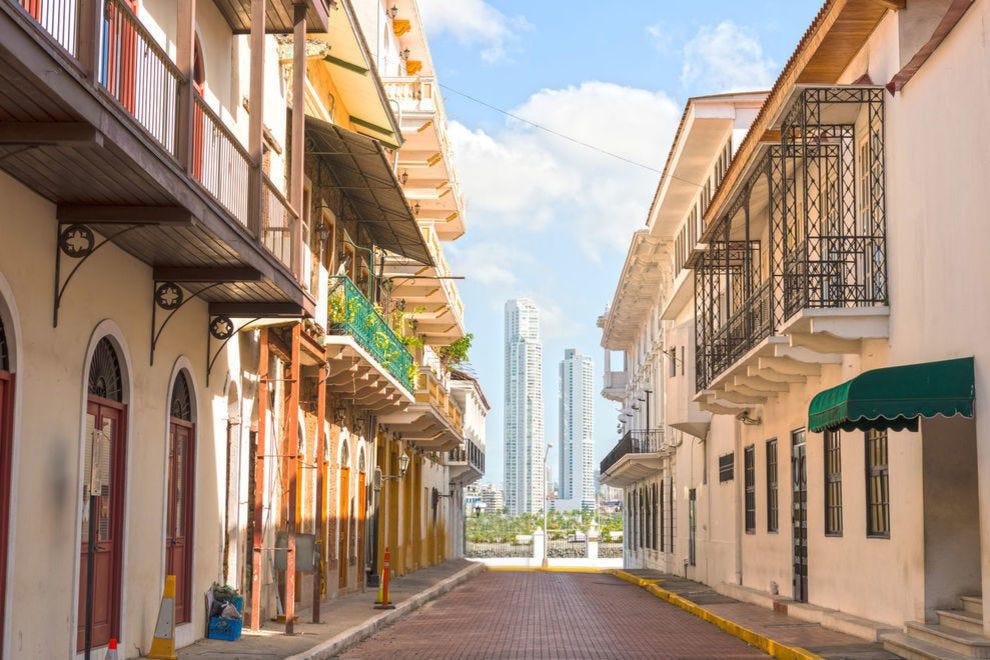 Casco Viejo, also known as San Felipe