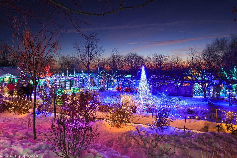 Colombian Vancouver Wa Christmas Lights 2021 Best Botanical Garden Holiday Lights Winners 2020 Usa Today 10best
